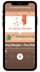 Dialogue Frog Free English Conversations Podcast Image